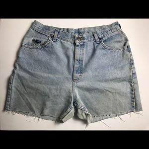 Vintage Lee Cut Off Shorts